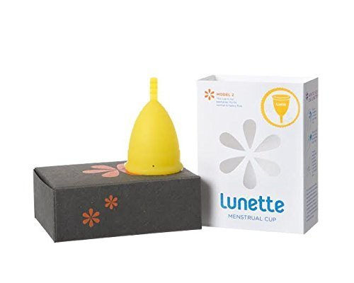 Lunette Menstrual Cup (Model 2 Yellow Lucia) by Lunette