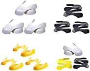 Tuankay 3 Pairs Shoes Shields Anti Wrinkle Shoe Support Toe Cap Shoe Head Stretcher