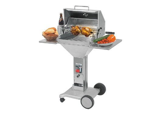 Thüros Nevada-Barbecues & Grills (Cart, Stainless Steel, Rectangular, Stainless Steel)