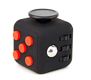 Focus Cube - (6 Colors) Fidget Cube Toy For Anxiety Stress Relief Attention Focus For Children / Adult Gift ADHD