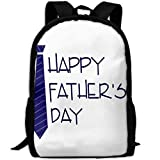 HOJJP HandtascheMost Durable Lightweight New Travel Water Resistant School Backpack - Happy Fathers Day