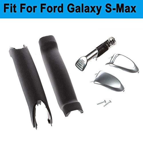 xiegons0 Auto Handbremse Reparatursatz Passend für Ford Galaxy S-MAX, 1774992 Feststell Griff Reparatursatz Werkzeuge, mit Mechanisch Feststellbremse mit Weichen Griff Handbremse Griff