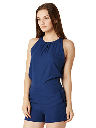 Miss-Chase-Womens-Navy-Blue-Mini-Playsuit
