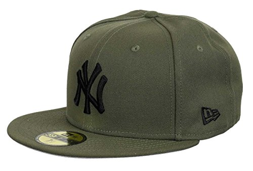 New Era New York Yankees 59fifty Basecap Olive Pack Olive/Black - 7 1/8-57cm