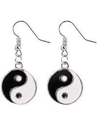 Pendientes con colgante - símbolo - yin yang - Tao