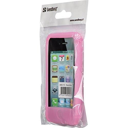 Sandberg-Coque arrière pour iPhone 4 rose