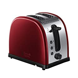Russell Hobbs Legacy 2-Slice Toaster 21291 - Metallic Red