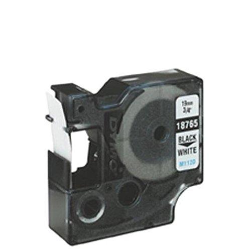 DYMO Beschriftungsband für Rhino 9mm schwarz weiß Schriftband