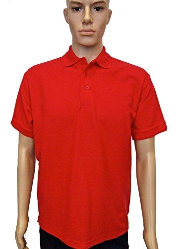 Uneek clothing -  Polo  - Polo - Polo  - Maniche corte - Uomo Rosso