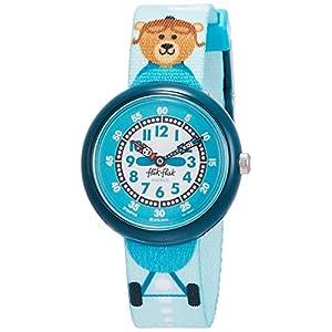 FlikFlak Jungen Analog Quarz Uhr mit Stoff Armband FBNP119