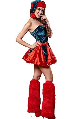PRIDE S Weihnachten Kostüme Uniformen Halloween Versuchung Set Cosplay Kostüme Spiel Uniformen ( Farbe : Rot , größe : M ) (Tv Spot Kostüme Halloween)