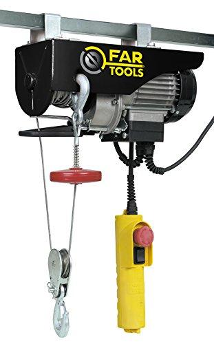 Fartools EP1050 Palan électrique 1050 W Charges maxi 600 kg Hauteur de passage maxi 12 mm