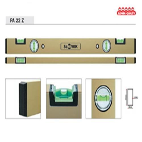 Aluminium Wasserwaage Länge 120 cm Alu Wasser Waage Messwerkzeug -Tolerenz : 0,5mm/m - PA 22 Z