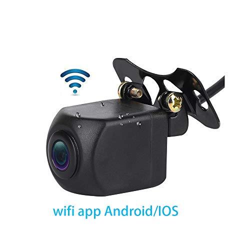 micarba WiFi Auto Kamera, 140View Grad Night Parking HD Farb Rückfahrkamera mit Monitor Kit wasserdichte IR-LEDs für Truck Trailer ... Monitor Kit