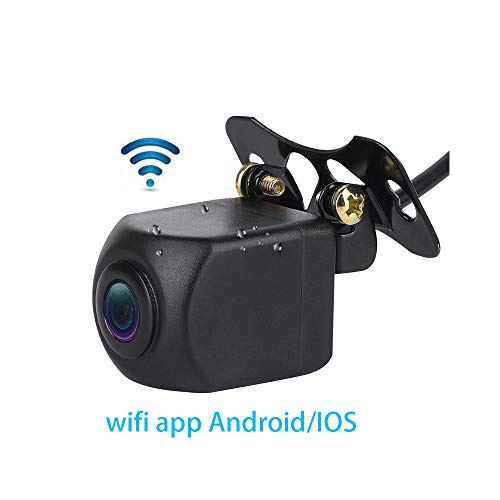 View-kamera-auto (micarba WiFi Auto Kamera, 140View Grad Night Parking HD Farb Rückfahrkamera mit Monitor Kit wasserdichte IR-LEDs für Truck Trailer ...)