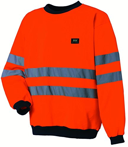 HELLY HANSEN WORKWEAR 34-079130-260-L - SUDADERA  COLOR NARANJA  TALLA L