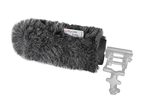 Rycote 033052 18cm Standard Hole Softie Windshield for Microphone