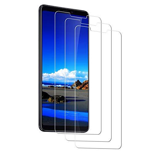 AJJHOMER Protector Pantalla Xiaomi Mi MAX 3 [3 Piezas] Cristal Templado Xiaomi Mi MAX 3, [Cobertura Completa] [Dureza 9H] [Alta Definición ],Vidrio Templado Xiaomi Mi MAX 3