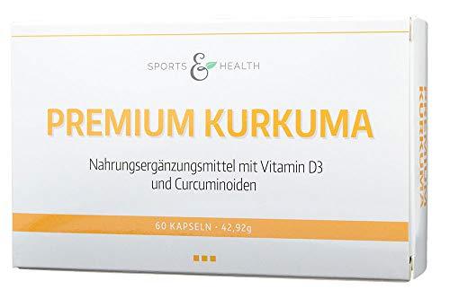 Premium Kurkuma Kapseln - Hochdosiert - Flüssiges Curcuma - Höchste Bioverfügbarkeit Durch spezielle Technologie (60 Kapseln)
