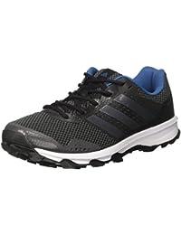 Adidas Duramo 7 Trail M, Zapatillas de Running para Asfalto para Hombre, Rojo (Neguti/Neguti/Negbas), 42 EU