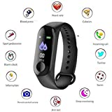VITALEO Activity Tracker/Bracelet Watch for Men/Fitness Watch for Women/Fitness Watch for Men/Health Watch/Health Band/Health Band & Activity Tracker/Wrist Smart Band/Heartbeat Watch/Sport Smart Watch