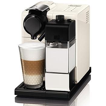 DeLonghi Nespresso EN 550.W Lattissima Touch Kapselmaschine (1400 Watt, inklusiv Welcome Pack mit 16 Kapseln) weiß