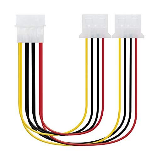 NANOCABLE 10.19.0401 - Cable alimentación 2xMOLEX
