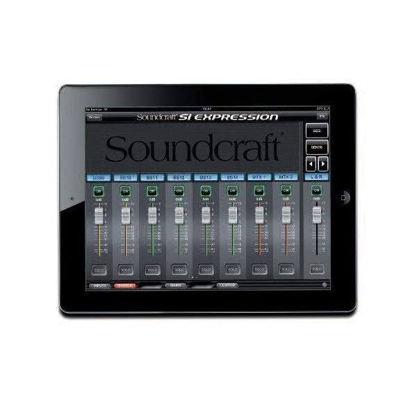 Sound Craft si Expression 2· Mixer digitale