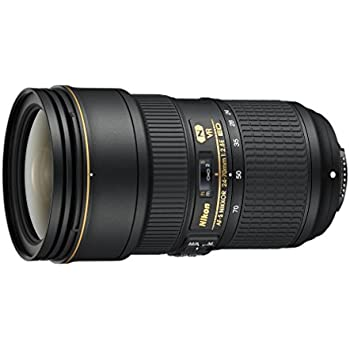 Nikon AF-S NIKKOR 24-70mm f/2.8E ED VR - Objetivo (SLR, 20/16, Automático/Manual, 24 - 70 mm, Nikon F, Nikon SLR)