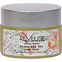 Reveuse skinscience Skin Science Vitamin Therapy Under Eye Gel with Natural Ingredients to Reduces Dark Circles…