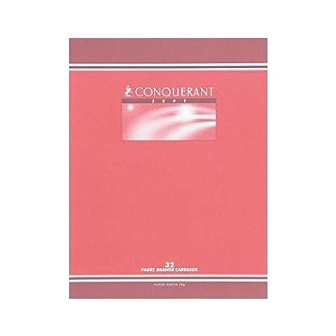 CONQUÉRANT SEPT Lot de 30 Cahiers d'écriture 17x22 cm 70g
