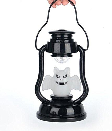 Lanternes portables, feux de citrouille, lampes à kérosène incandescentes, lanternes simulées, décorations de Halloween, accessoires de maison hantés