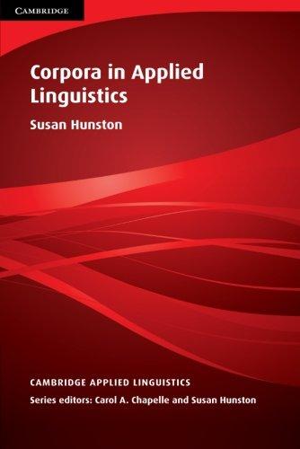 Corpora in Applied Linguistics (Cambridge Applied Linguistics)