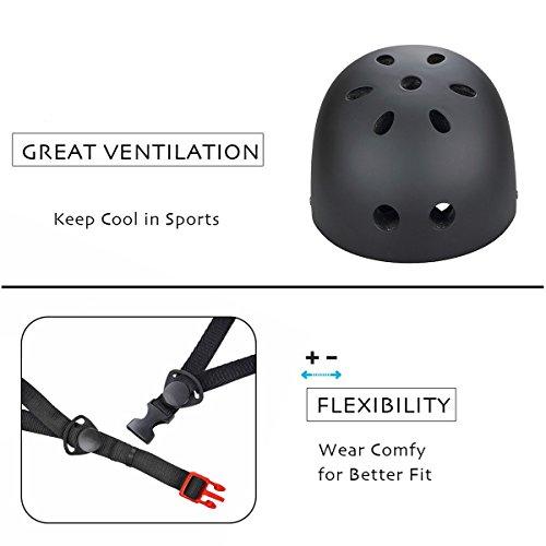 SymbolLife BMX / Skate / Motorroller Helm fahrradhelm motorroller helm Zyklus / Bike / Scooter / Skatehelm CE EN1078 TÜV - 5