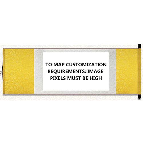 inierte DIY Duschvorhang Landschaft Frau Ölgemälde Dickes Polyester wasserdicht Mehltau Duschvorhang, um benutzerdefinierte,Customized,180 * 200cm ()