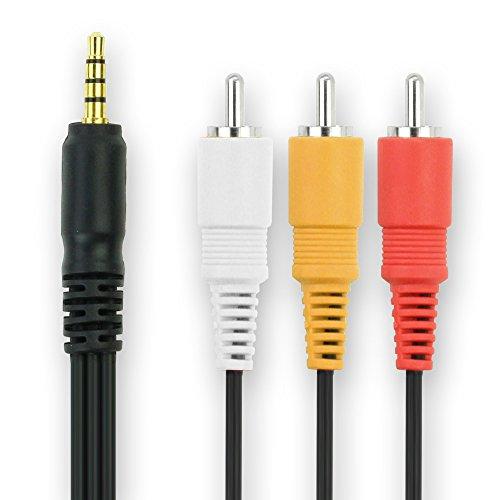 Audio Video Composite Kabel STV-250N für Canon Camcorder Videokabel Video Kabel