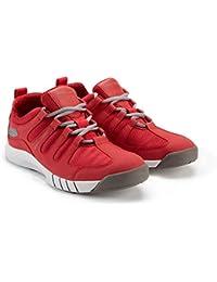 2018 Henri Lloyd Deck Grip Profile II Deck Shoes in New Red YF600001 Boot/Shoe Size UK - UK Size 8