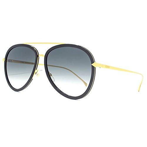 fendi-angle-funky-lunettes-de-soleil-aviateur-noir-or-jaune-ff-0155-s-my2-57-57-gradient-grey