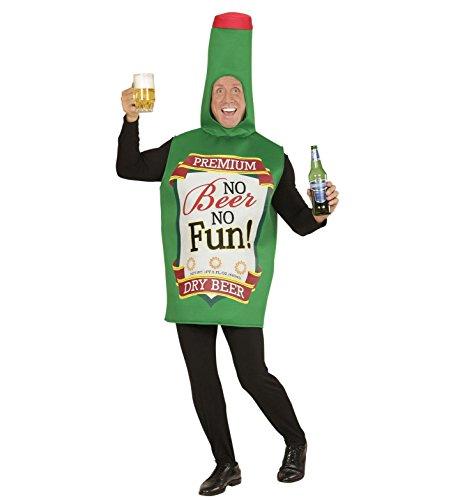 chsenenkostüm Bierflasche, Einheitsgröße (Bierflasche Halloween-kostüm)