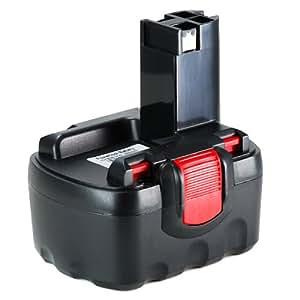 M&L Mobiles® | Batterie 14,4V | Ni-MH 3000 mAh pour Bosch PSR 14.4VE-2(/B), PSR1440, PSR1440/B, PST 14.4V - remplace modèle 2 607 335 264 etc...