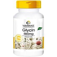 Glicina 500mg – 90 cápsulas – artículo vegano – Warnke Vitalstoffe ...