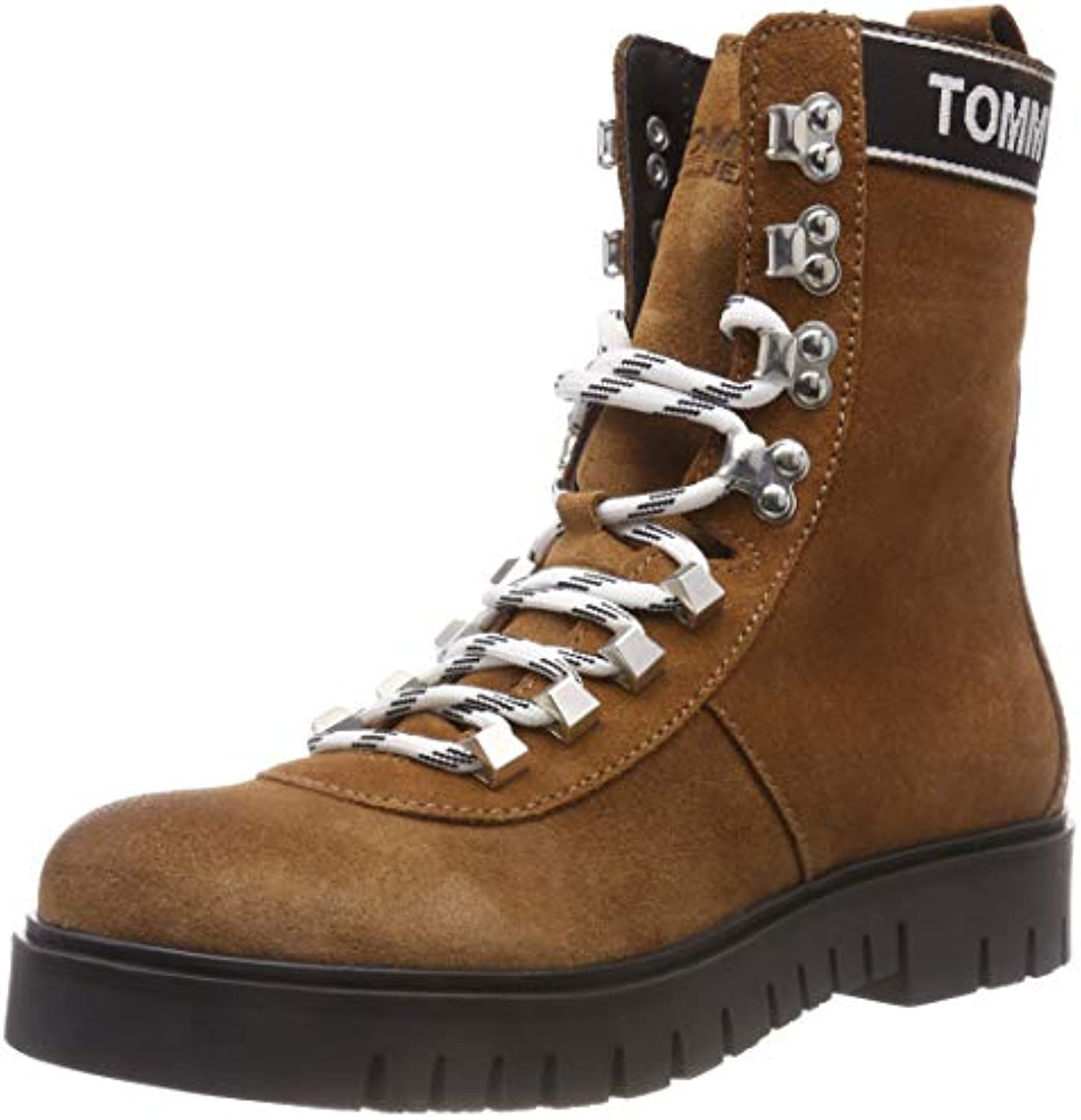 Tommy Jeans Hiking Bottes Boot, Bottes Hiking Rangers Femme 03fd86