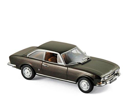 Norev® NV475433 1969 Peugeot 504 Coupe - Modelos de Fundido de Color marrón, Escala 1:43