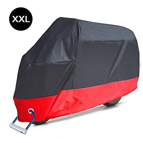 XCSSKG - Funda para motocicleta, protección impermeable para todas las estaciones, 2...