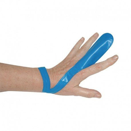 Doigtiers bleus Lot de 12. Protège les doigts