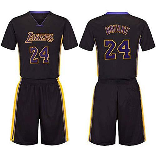 # 24 Kobe Basketball-Bekleidung, Unterwäsche Herren-Sporttrikot, Lakers Basketball-Anzug-Set, Herrenjacke Weste Basketball-Fans-XXXXXL