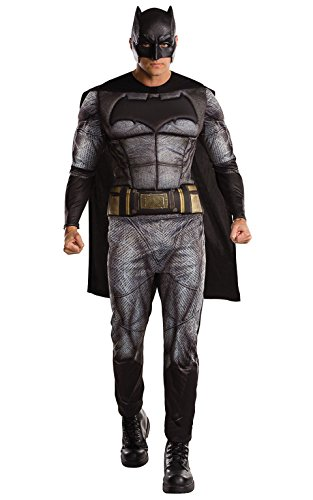 rubies-costume-di-uomo-batman-deluxe-batman-v-superman-dawn-of-justice-taglia-40-42