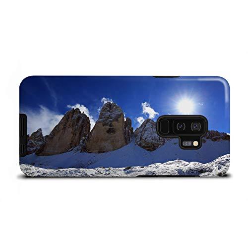 artboxONE Tough-Case Handyhülle für Samsung Galaxy S9 Plus DREI Zinnen von fotoping -