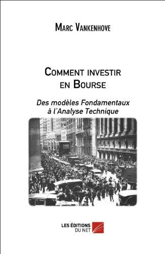 Comment investir en bourse par Marc Vankenhove