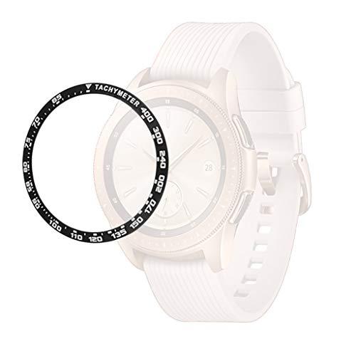 Case Dell \'Smart Watch Tianya ♡ Aufkleber Hülle Mit Lünette Aufkleber Cover Mit Kratzschutz Für Samsung Galaxy 42Mm Dekorative Metallaufkleber